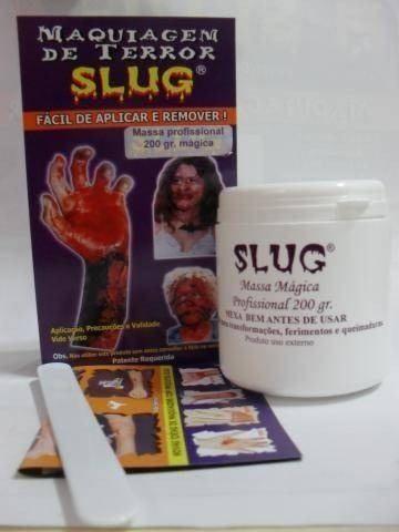 Massa Magica Profissional Slug 200gr Ruiva Makeup Shop Pronta
